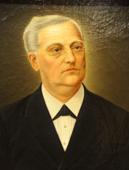 Christoph Friedrich Weiss, Erwerber des ursprünglichen Anwesens und Namensgeber der VILLA WEISS