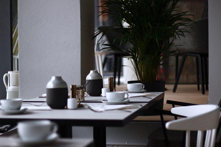 Frühstücksraum der VILLA WEISS, Hotel mit Musik in Helmbrechts