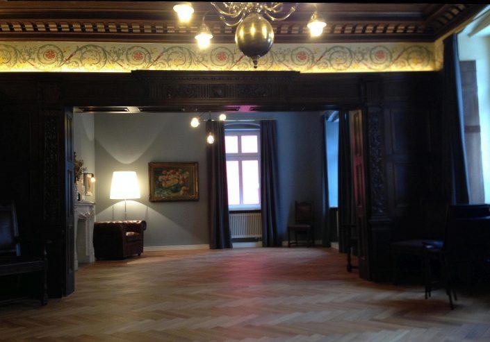 historisches Hochzeitszimmer, Konzertsaal in der VILLA WEISS
