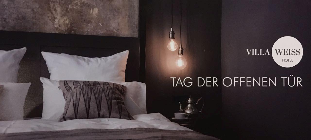 tag der offenen t r samstag 07 okt 17 ab 11 uhr villa weiss hotel mit musik. Black Bedroom Furniture Sets. Home Design Ideas