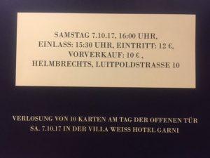 Verlosung 1o Freikarten SWEETLEMON, VILLA WEISS Hotel Garni Helmbrechts